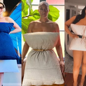 People have started wearing pillows as dresses—and this is the nap-friendly trend we can get behind