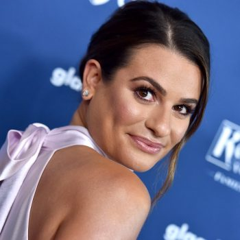 Lea Michele confirmed she's pregnant with a sweet photo, and <em>Glee</em> fans love this connection to Rachel Berry