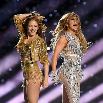 J.Lo teaches Shakira how to booty shake in these behind-the-scenes Super Bowl halftime show videos