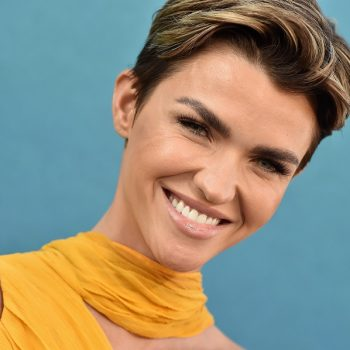 <em>Batwoman</em>'s Ruby Rose dyed her buzzcut not one, but two bold new colors in quarantine