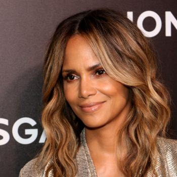 "Halle Berry is ""obsessed"" with this $15 hair mask from a famous friend"