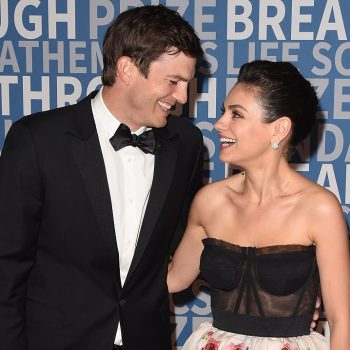 Mila Kunis and Ashton Kutcher couldn't hold it together while playing a voice-swapping game