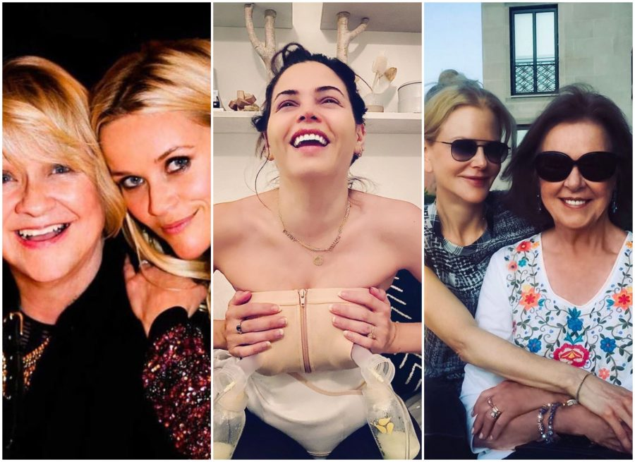 Here's how Reese Witherspoon, Jenna Dewan, Nicole Kidman, and others celebrated their Mother's Day
