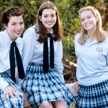 Anne Hathaway revealed that this iconic <em>Princess Diaries</em> moment was totally an accident