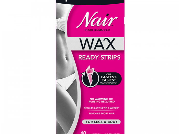 nair best at-home wax strips