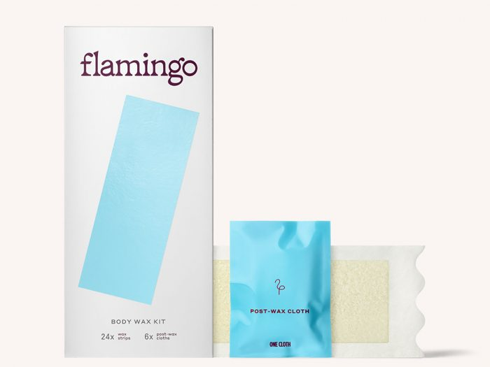best at-home wax strips, flamingo women's body wax kit