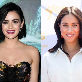 Lucy Hale told a story about starring in a failed TV pilot with Meghan Markle