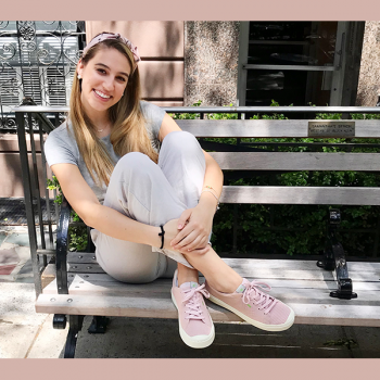 These comfy and eco-friendly sneakers are my go-to summer shoe
