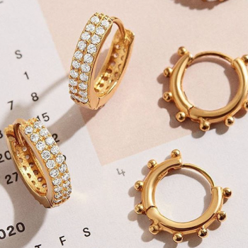 This BaubleBar earring bundle sold out 3 times—but it's finally back in stock