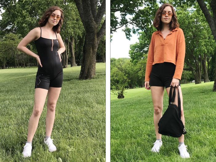 how to style unitards
