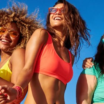 Legit all swimsuits are 50% off at Old Navy right now, starting at just $10