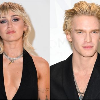 "Miley Cyrus and BF Cody Simpson now have ""matching mohawks"""