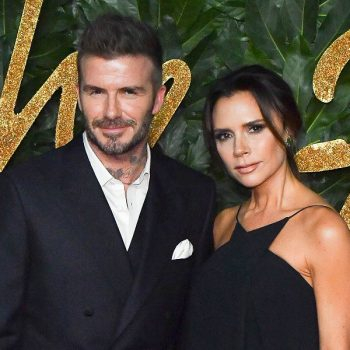 Victoria Beckham's son posted this rare photo of her, and David Beckham lovingly trolled it