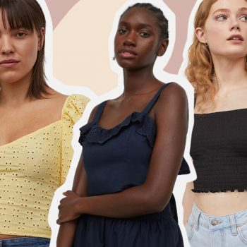 11 crop tops to wear with high-waisted shorts this summer, starting at $4