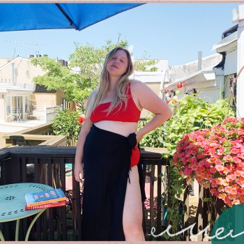 Why I'm choosing to wear a bathing suit at home this summer