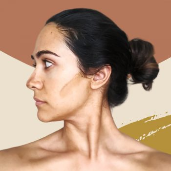 Contour your face with self-tanner for the most natural-looking effect
