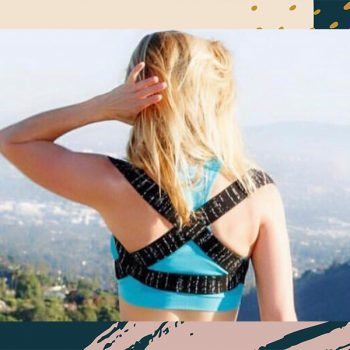 This elastic back brace fixed my constant upper back pain almost immediately