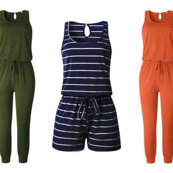 "This flattering jumpsuit with pockets will make you look ""very put together"""