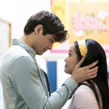 Lana Condor and Noah Centineo are giving you a sneak peek of <em>To All the Boys 3</em> for a good cause