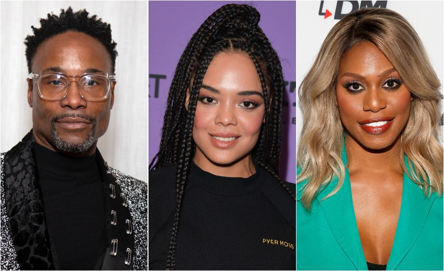 Billy Porter, Tessa Thompson, and hundreds of other Black stars signed a letter demanding change in Hollywood